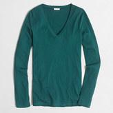 J.Crew Factory Tissue long-sleeve V-neck T-shirt