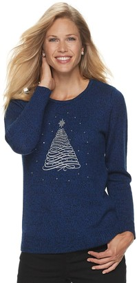 Croft & Barrow Women's Holiday Sweater