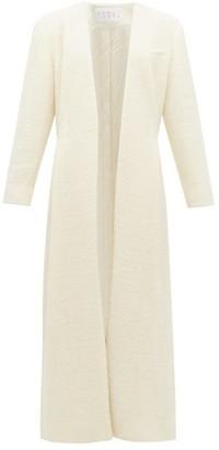 Woolmark Albus Lumen - X Nubes Merino Wool Coat - Womens - Cream