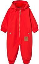 Mini Rodini Pico Overall Red