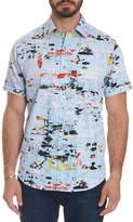 Robert Graham Men's Kano Short-Sleeve Button-Front Shirt