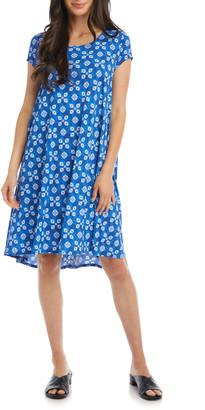Karen Kane Maggie Print Trapeze Dress