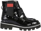 MSGM Shiny Ankle Boots