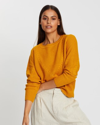 Only Jemma Cable Pullover Knit