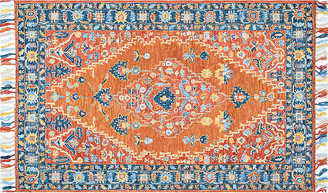 One Kings Lane Ariella Kids' Rug - Rust - Rust/multi