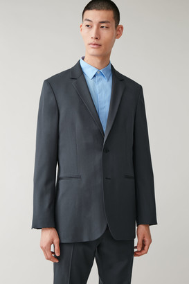 Cos Relaxed Fit Wool Blazer