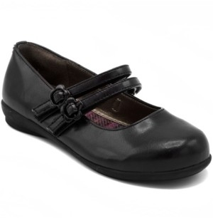 French Toast Big Girls Mary Jane Flat Shoe