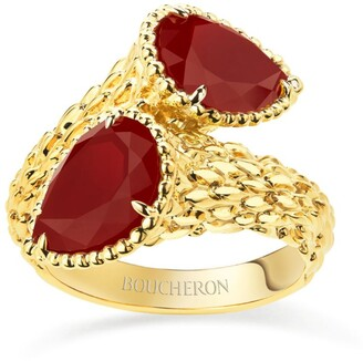 Boucheron Yellow Gold Serpent Boheme Ring