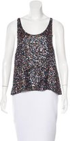 Sass & Bide Sequin-Embellished Sleeveless Top