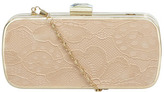 Dorothy Perkins Miss KG Nude box clutch bag