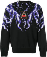 Alexander Wang lightning collage sweatshirt