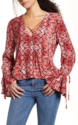 Band of Gypsies Welcome To The Jungle Blouse