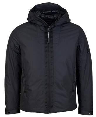C.P. Company Micro M Arm Lens Hooded Jacket Colour: BLACK, Size: MEDIUM