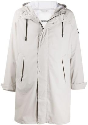 Stutterheim Mid-Length Hooded Coat