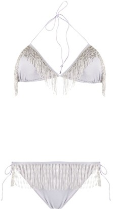 Oseree Fringed Two-Piece Bikini