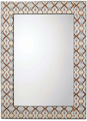 Jamie Young Kaleidoscope Wall Mirror - Rust