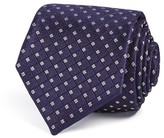 Theory Square Grid Skinny Tie
