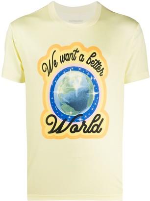 Viktor & Rolf We Want a Better World print T-shirt