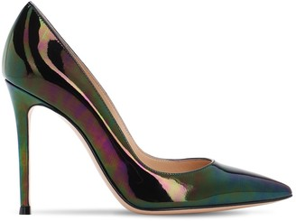 Gianvito Rossi 105mm Iridescent Patent Leather Pumps