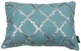 Kensie Holly Metallic Lattice Pillow - 14 x 20