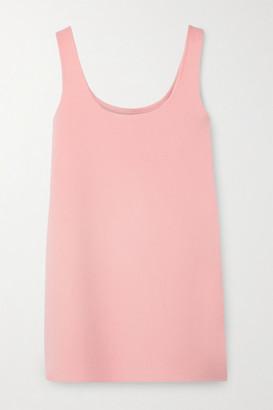 Marc Jacobs Wool, Cashmere And Silk-blend Felt Mini Dress - Pink