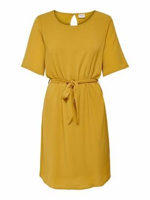 Jacqueline De Yong Women's JDYAMANDA 2/4 Belt Dress WVN NOOS