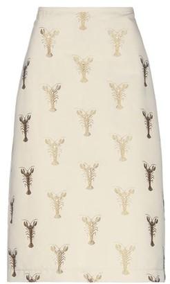 Odeeh 3/4 length skirt