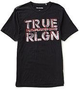 True Religion Short-Sleeve Established Logo Graphic T-Shirt