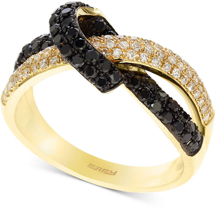 Effy Caviar by Diamond Knot Statement Ring (3/4 ct. t.w.) in 14k Gold