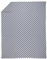 Full-Queen Little Prints Duvet Cover (Blue Stripe)