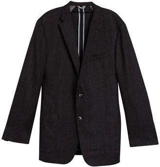 Hickey Freeman Modern Fit Bird's Eye Wool Sport Coat