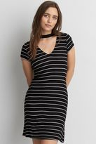 American Eagle Outfitters AE Choker T-Shirt Dress