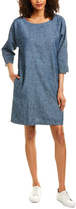 Eileen Fisher Chambray Shift Dress