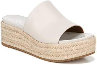 Franco Sarto Leather Slip-On Espadrilles - Tola