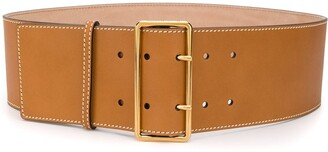 Alexander McQueen Double Buckle Belt