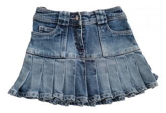 Christian Dior Blue Cotton Skirts