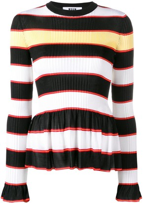 MSGM horizontal stripes jumper