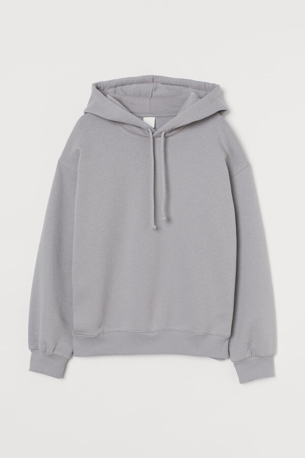 Thumbnail for your product : H&M Cotton-blend Hoodie - Gray