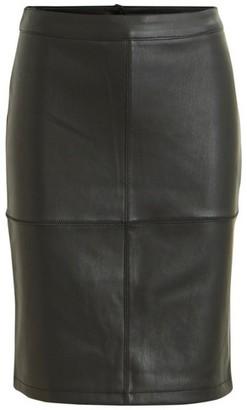 Dorothy Perkins Womens **Vila Black Mini Skirt, Black