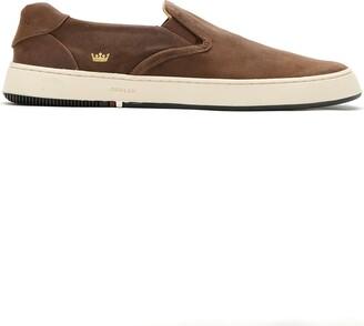 OSKLEN Leather Slip On Sneakers