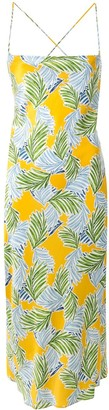 Bec & Bridge Palm Paradise silk dress