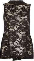 Izabel London Sleeveless Lace Top