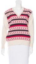 Saint Laurent Angora & Wool-Blend Sweater
