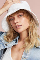 Anthropologie Canvas Bucket Hat