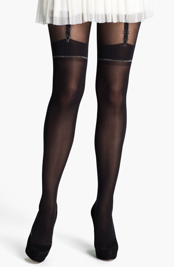 Pretty Polly 'Stunning' Mock Suspender Tights