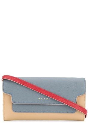 Marni Colour-Block Crossbody Wallet