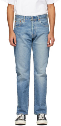 Levi's Levis Blue Faded 501 93 Jeans