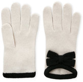 Portolano Bow Cashmere Gloves
