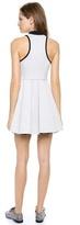 Alexander Wang Jersey Bonded Neoprene Dress