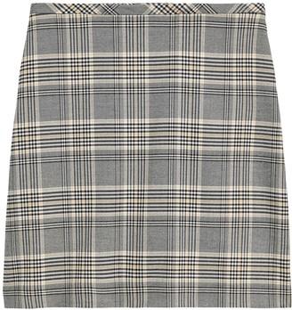 Banana Republic Plaid Mini Skirt